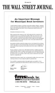 Important Message for Municipal Bond Investors